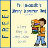 Mr. Lemoncello's Library Scavenger Hunt