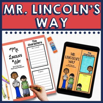 Mr. Lincoln's Way Book Companion and Lapbook in Digital and PDF Formats