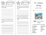 Mr. Linden's Library Trifold - Into Reading 5th Grade Module 9 Week 1