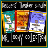 Back to School-Thanksgiving-Groundhog Day Readers' Theater Scripts Bundle - 3-6
