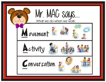 Mr. MAC Posters (CHAMPS - PBIS)