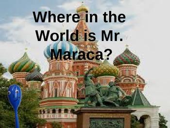 Mr. Maraca in Russia