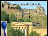 Mr. Maraca takes on Scotland