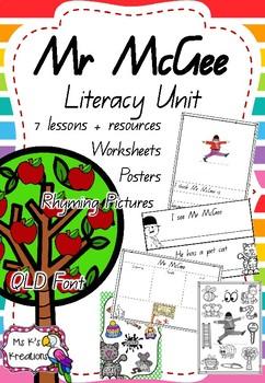 Mr McGee - Literacy Unit