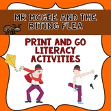 Mr McGee and the Biting Flea Book Companion- Print & Go Literacy Activities