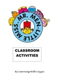Mr. Men Flashcard and Books