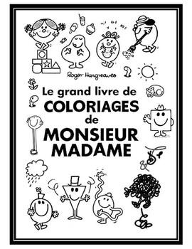 Mr Men & Little Miss Coloring Book