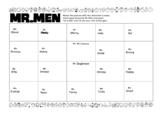 Mr Men Matching Activity