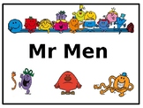 Mr. Men Unit Plan, PowerPoint and Resources!