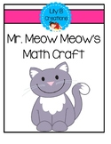 Mr. Meow Meow's Math Craft