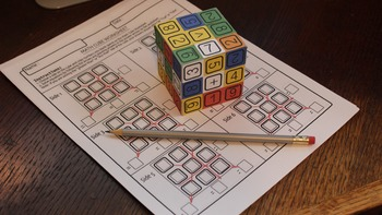 Mr. Merlin's Math Puzzle Cube