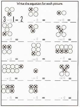 Mr Minus Worksheet Grade 1 Basic Subtraction