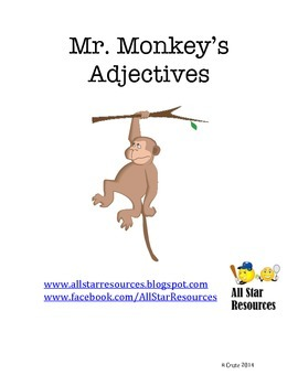 Mr. Monkey's Adjectives