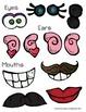 Mr. & Mrs. Potato Head File Folder/Play Doh Mats