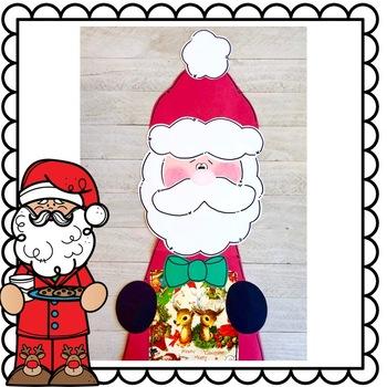 Mr. & Mrs. Santa Claus Craft: Christmas Craft, December crafts