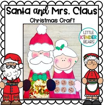 Mr Mrs Santa Claus Christmas Craft