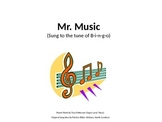 Mr. Music Song