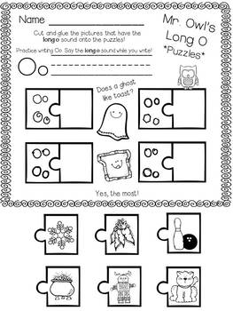 Mr. Owl's Vowels * Short Vowel and Long Vowel Sounds in Kindergarten * Freebie!