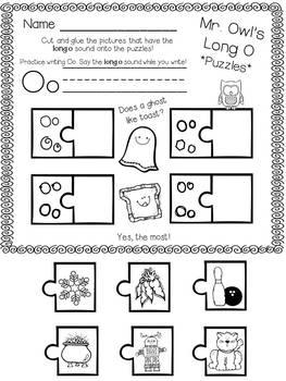 Kindergarten Short Vowel and Long Vowel Sounds Activities Freebie