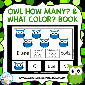 How Many What Color Owls Cut