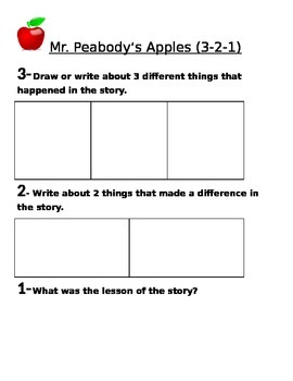 Mr. Peabody's Apple 3-2-1