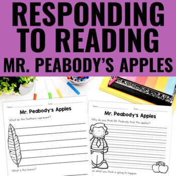 Mr. Peabody's Apples - Reading Response
