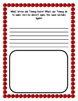 Mr. Peabody's Apples Response Sheet