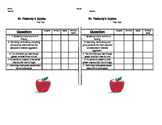Mr. Peabody's Apples Stop Rumors Lesson Pre and Post Test