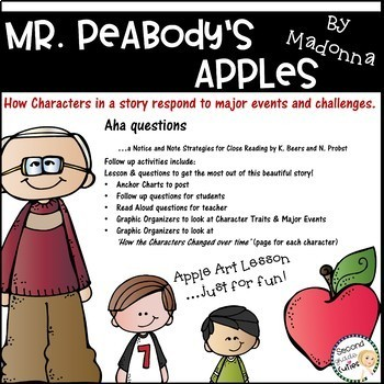 Mr. Peabody's Apples ....Characters, lessons learned, & gr