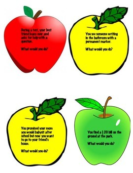 Mr. Peabody's Apples Discussion Activity