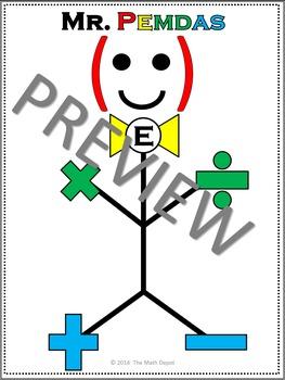 Mr. Pemdas - Order of Operations