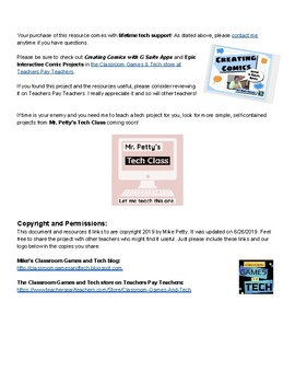 Mr. Petty's Tech Class:  Making Interactive Stories Using Google Slides