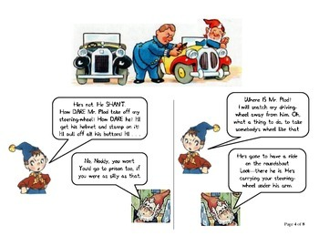 Mr. Plod's Helmet (Comic Strip)