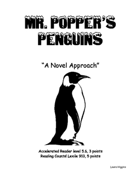 Mr. Popper's Penguins - A Novel Approach
