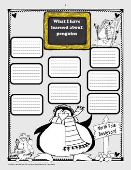 Mr. Popper's Penguins ( Activity Packet)