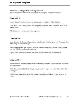 Mr. Popper's Penguins-Reading Literature Guide