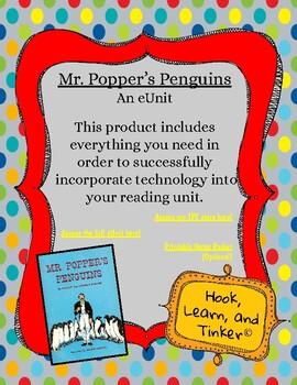 Mr. Popper's Penguins Cross-Curricular Interactive eUnit