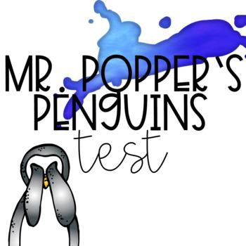 Mr. Popper's Penguins End of Unit Test