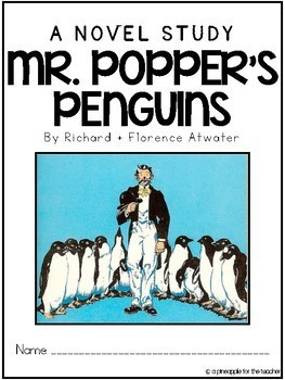 Mr. Popper's Penguins - No Prep, Common Core Aligned Novel Study