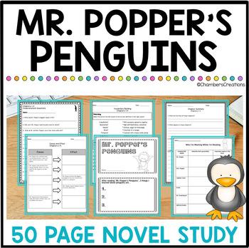 Mr. Popper's Penguins- Novel Study