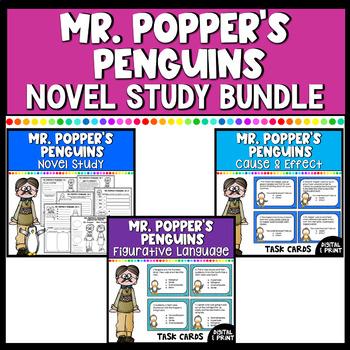 Mr. Popper's Penguins Novel Study & Literacy Center Mega Bundle