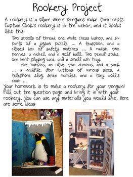 Mr. Popper's Penguins Rookery Project