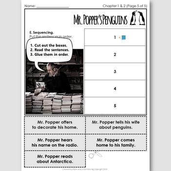 Mr. Popper's Penguins, an English Novel Study for Japanese Students
