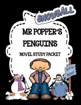 Mr. Popper's Penguins Novel Study Unit