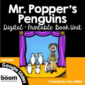 Mr. Popper's Penguins [Atwater] Digital + Printable Book Unit