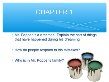 Mr. Popper's Penguin's ALL INCLUSIVE GUIDED READING PACKET