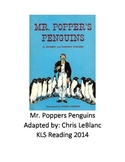 Mr. Poppers Penguins - Adapted Book - Picture Supported Te