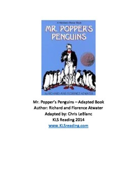 Mr. Poppers Penguins - Adapted Book Summary Review