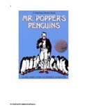 Mr. Poppers Penguins - Adapted Book Summary pictures chapter review questions