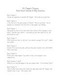 Mr. Popper's Penguins - Blog Questions